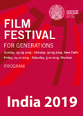 Brochure Filmfest for Generations 2019 India